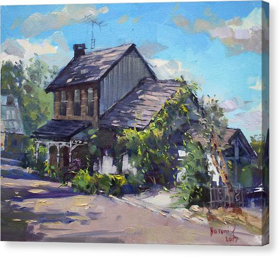 Ontario Canvas Print - Historical House Ontario by Ylli Haruni