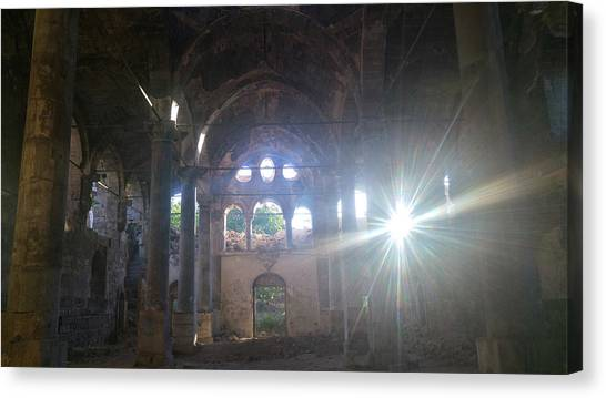Philidelphia Canvas Print - Historical Ortodox Church by Umit BAHACAN