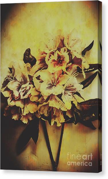 Wedding Bouquet Canvas Print - History In Bloom by Jorgo Photography - Wall Art Gallery