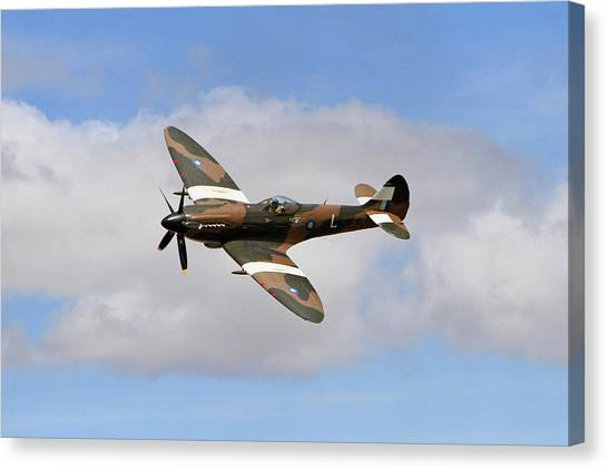 Wii Canvas Print - History In The Sky by Shoal Hollingsworth