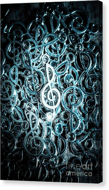 Clubs Canvas Print - Hitting Key Harmonics  by Jorgo Photography - Wall Art Gallery