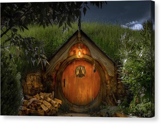 Hobbit Dwelling Canvas Print