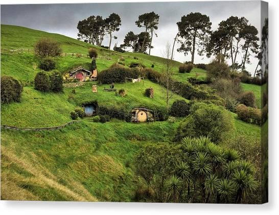 Hobbit Valley Canvas Print