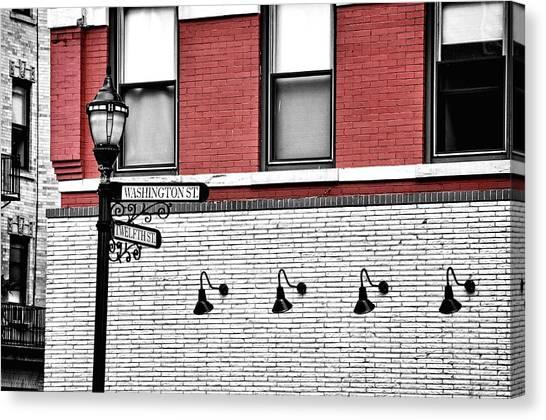 Hoboken Lights Canvas Print