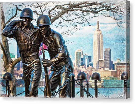 Hoboken War Memorial Canvas Print