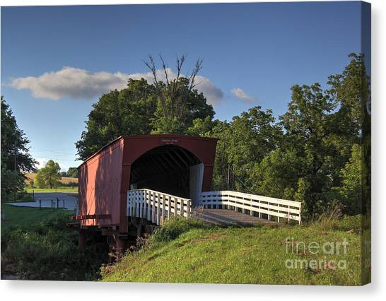 Roseman Covered Bridge Canvas Print