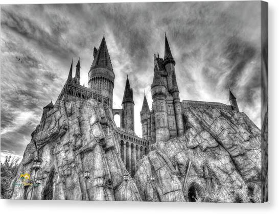 Hogwarts Castle 1 Canvas Print