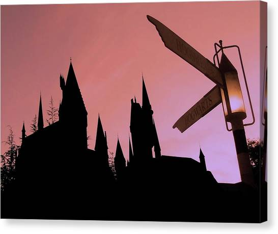 Warner Park Canvas Print - Hogwarts Castle ... by Juergen Weiss
