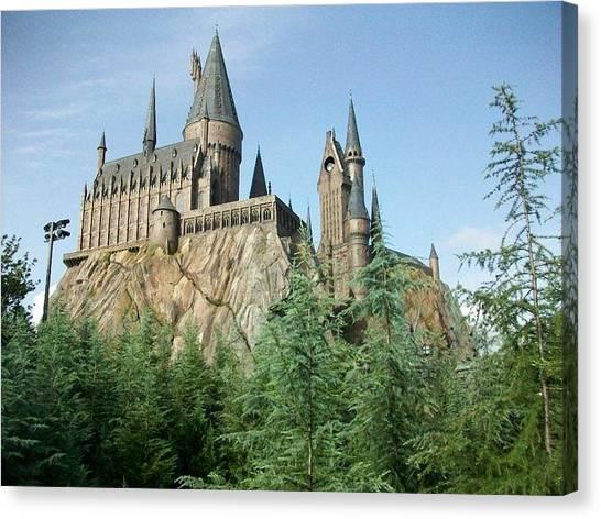 Harry Potter Canvas Print - Hogwarts Castle by Sarah Snyder
