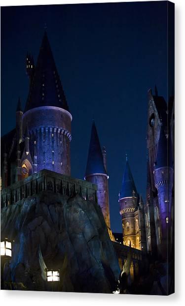 Hogwarts Canvas Print by Sarita Rampersad