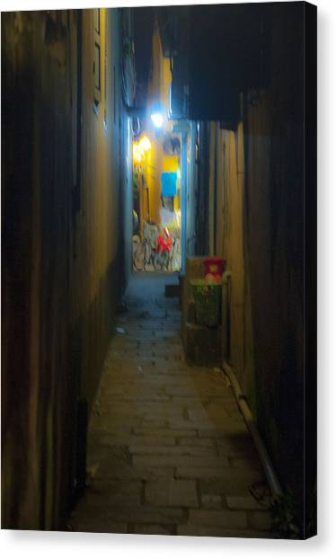 Hoi An Alleyway Canvas Print