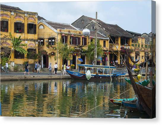 Hoi An On The River Canvas Print