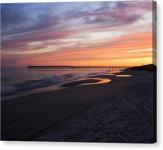 Holden Beach Pier Canvas Print