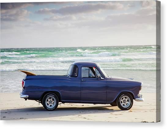 Utility Canvas Print - Holden Beach by Sean Davey