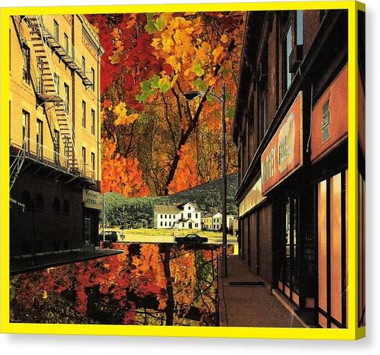Holden Street Canvas Print by Gabe Art Inc