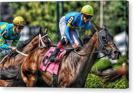 Holiday Bonus With Irad Oriz, Jr. Canvas Print