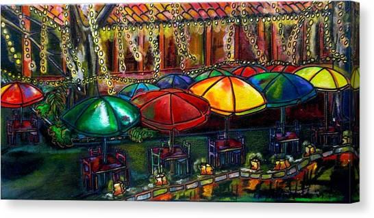 Holiday Riverwalk Canvas Print
