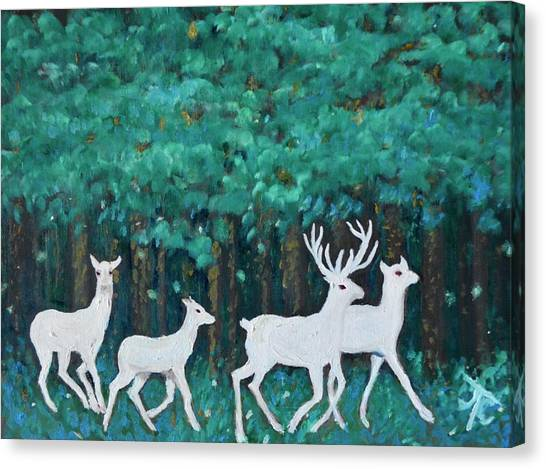 Holiday Season Dance Canvas Print