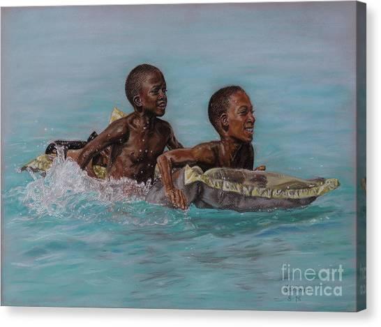 Holiday Splash Canvas Print