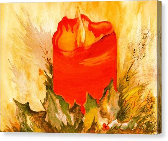 Holiday Warmth Canvas Print