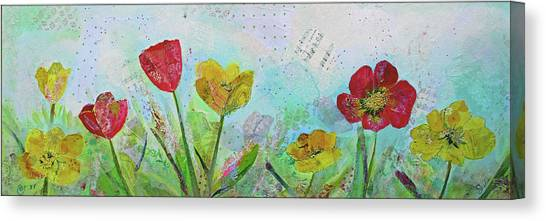 Tulip Canvas Print - Holland Tulip Festival I by Shadia Derbyshire