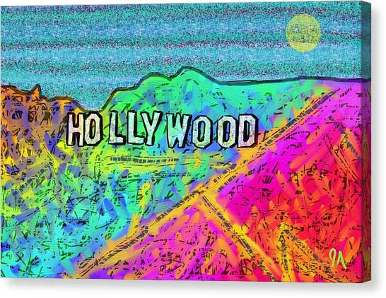 Hollycolorwood Canvas Print