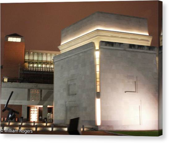 Holocaust Museum Canvas Print - Holocaust Museum by William Rogers