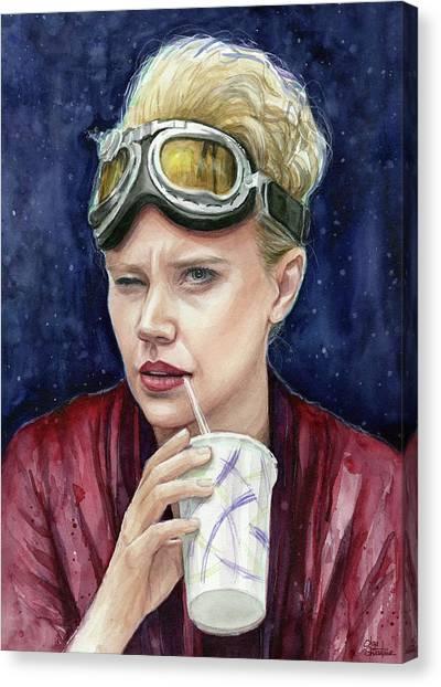 Ghostbusters Canvas Print - Holtzmann Ghostbusters Portrait by Olga Shvartsur