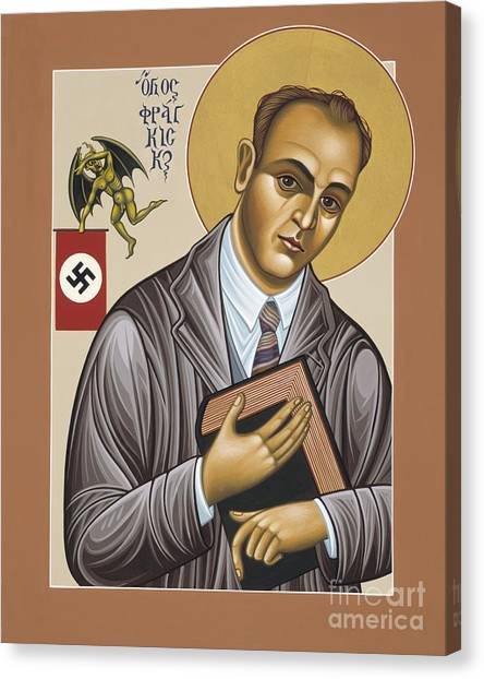 Holy Blessed Martyr Franz Jagerstatter 049 Canvas Print