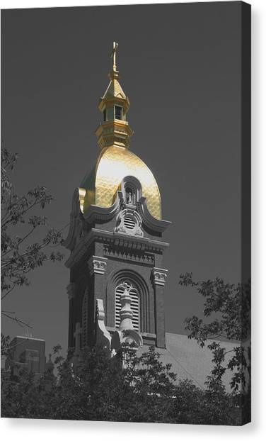 Holy Church Of The Immaculate Conception - Colorized Canvas Print