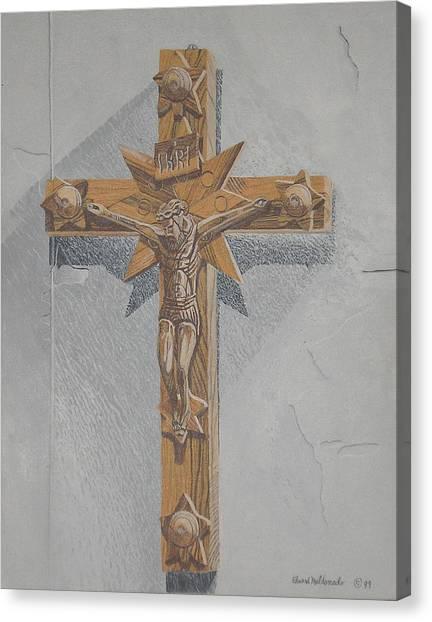 Holy Cross Canvas Print