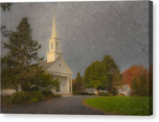 Holy Cross Parish Church Canvas Print