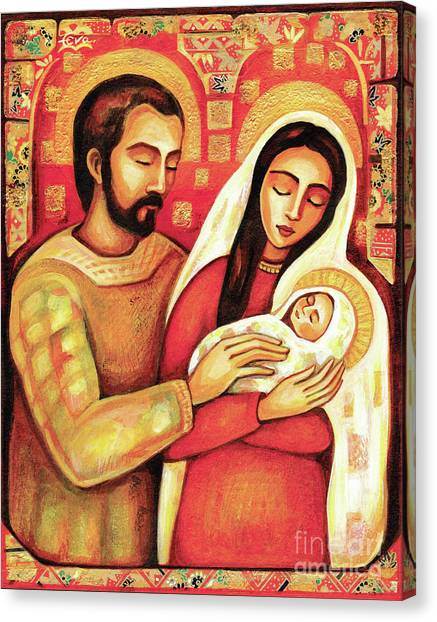 Holy Family Canvas Print