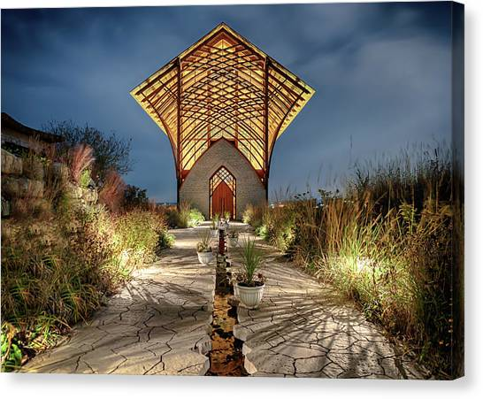 Holy Family Shrine Canvas Print