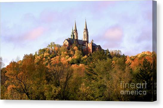 Holy Hill Basilica, National Shrine Of Mary Canvas Print