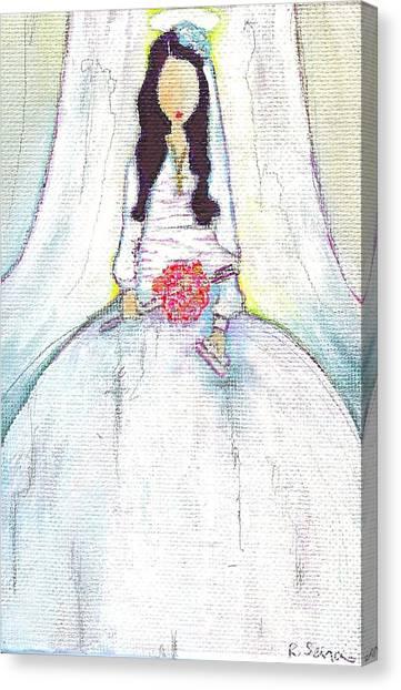 Holy Mama Canvas Print