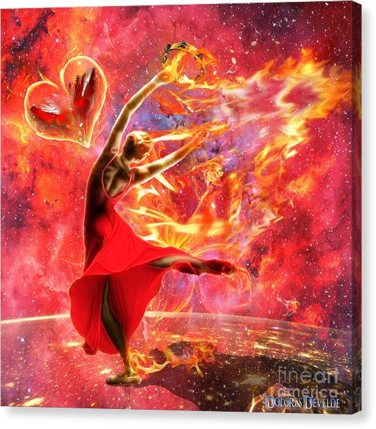 Holy Spirit Fire Canvas Print