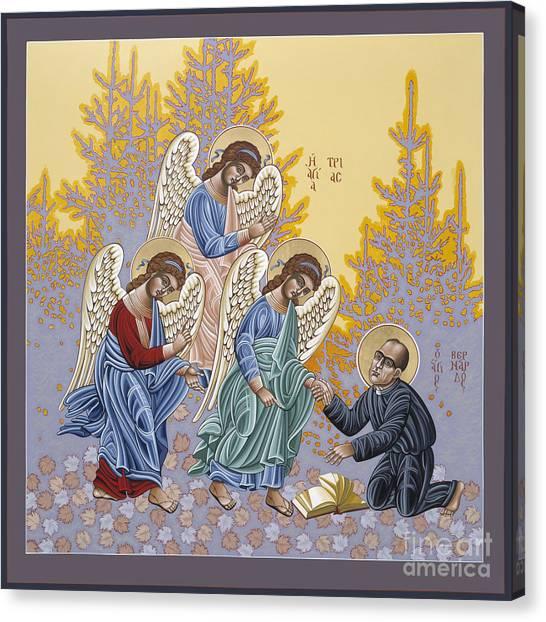 Holy Theologian Bernard Lonergan 122 Canvas Print
