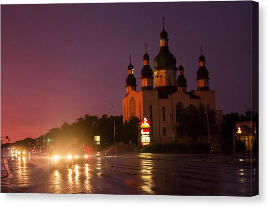 Holy Trinity Church Canvas Print by Bryan Scott