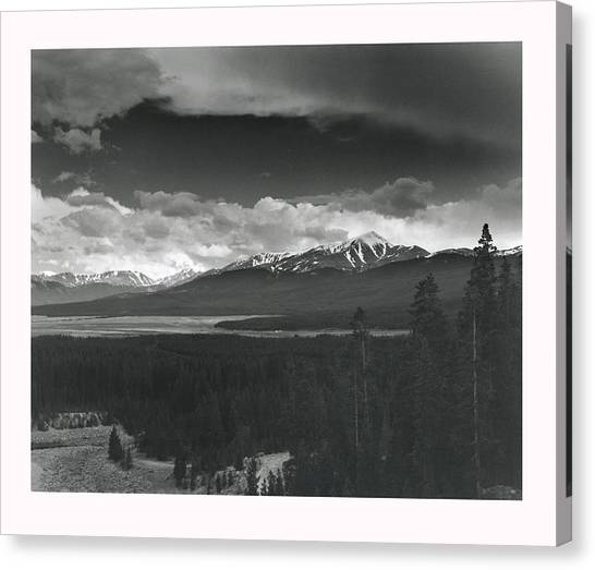 Homage To Ansel Canvas Print by Jim Furrer