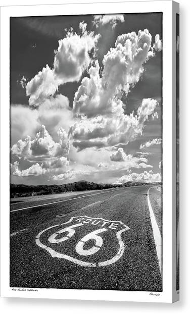 Homage  To Lee Friedlander Canvas Print