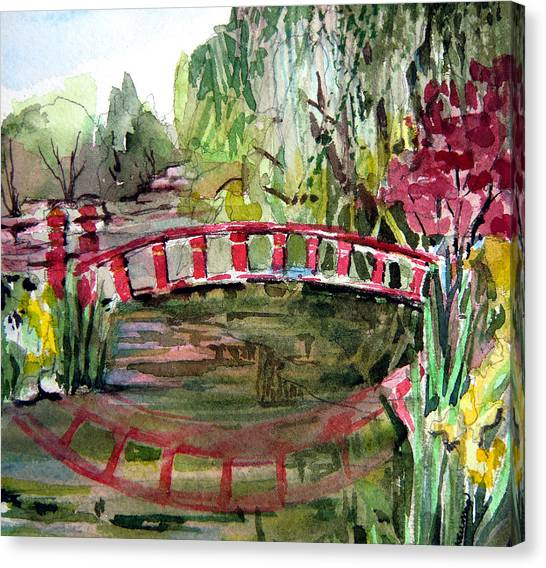 Homage To Monet Canvas Print