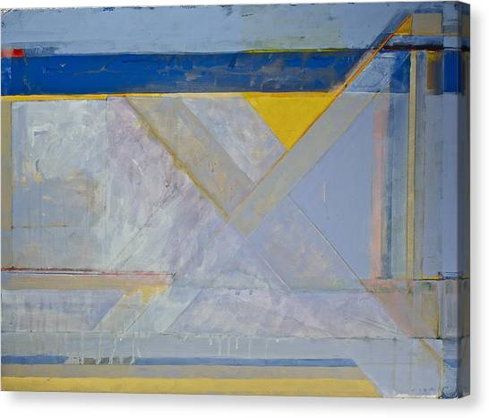 Homage To Richard Diebenkorn's Ocean Park Series  Canvas Print