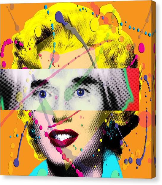 Warhol Canvas Print - Homage To Warhol by Gary Grayson