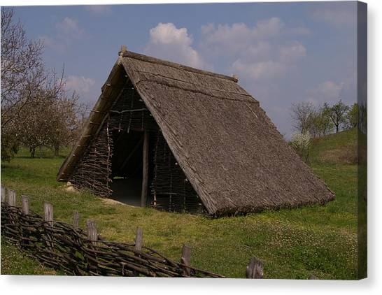 Home - Prehistory Edition Canvas Print by Catja Pafort