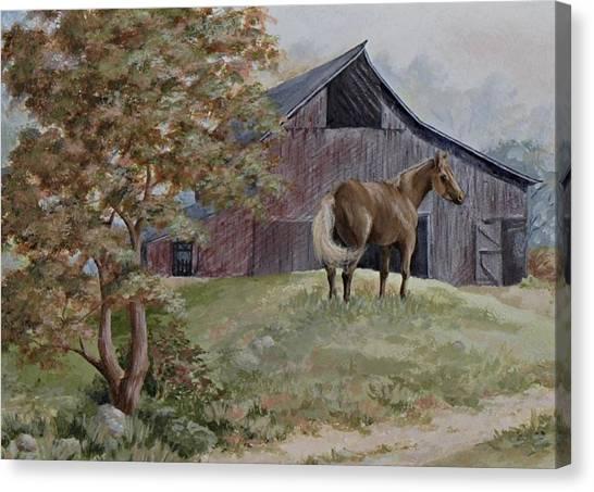 Home At Last Canvas Print by Kathleen Keller