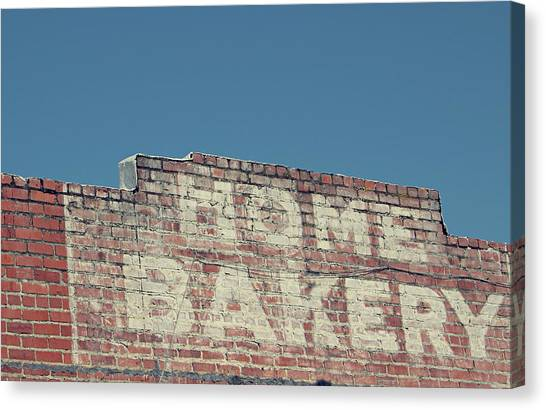 Bakeries Canvas Print - Home Bakery- Photo By Linda Woods by Linda Woods
