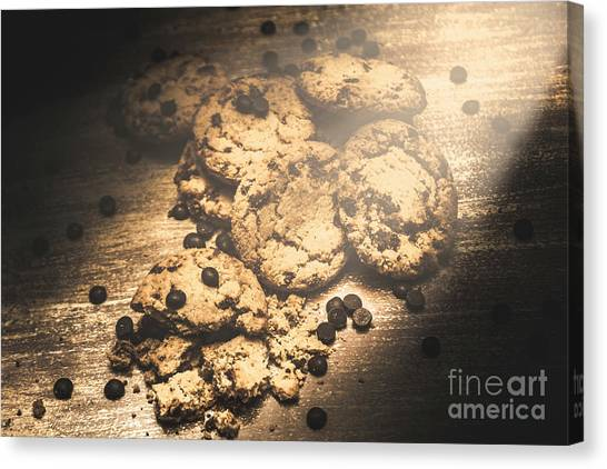 Biscuits Canvas Print - Home Biscuit Baking by Jorgo Photography - Wall Art Gallery