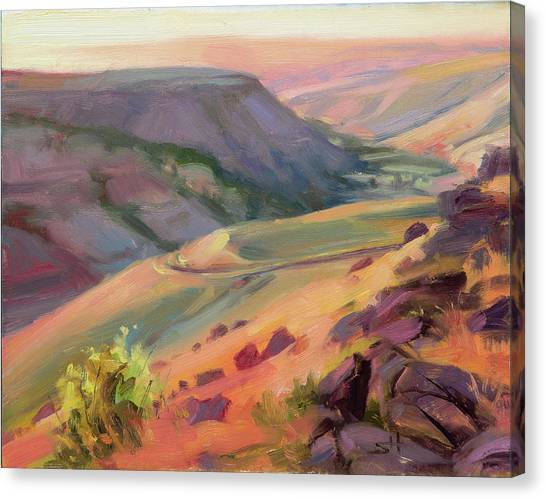 Eastern Canvas Print - Home Country by Steve Henderson