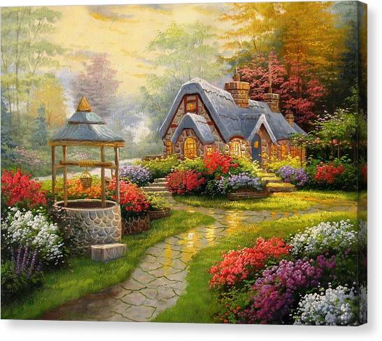 Home Is Where You Find Real Love Canvas Print